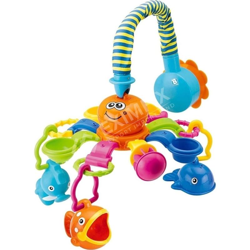 3 Toy Octopus Bath Tropics