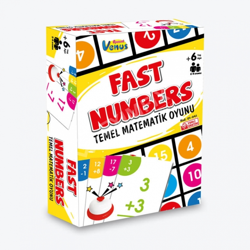 Quick Numbers Card Game