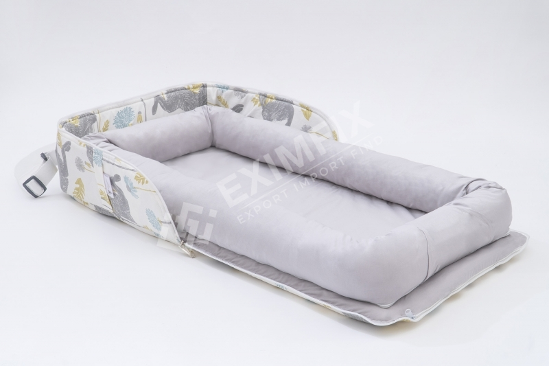 Cotton portable baby bed newborn sleep bed infant travel cradle crib multi-function infant folding bed baby nest