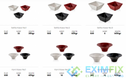 Types of Presentation Bowls