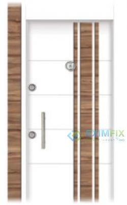 PVC Embossed Covered Doors
