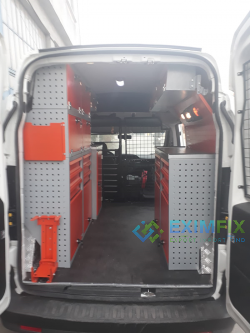 Vehicle Shelf and Cabinet Systems