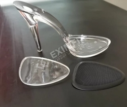 transparent soles, transparent heels and shoe accessories